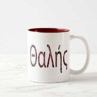 Thales Two-Tone Coffee Mug