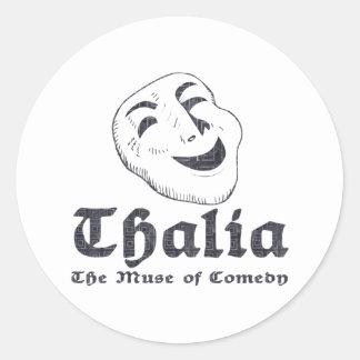 Thalia Classic Round Sticker