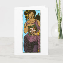 Thalia Greeting Card