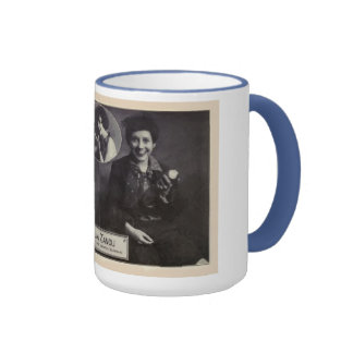 Thalia Zanou 1930 vintage portrait mug