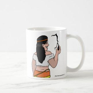 Thalia's cracked mug