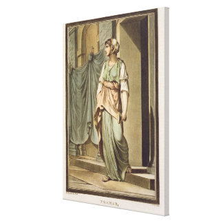 Thamar, an Israelite in the Retinue of Esther, cos Canvas Print