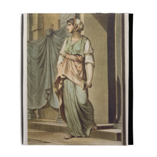 Thamar, an Israelite in the Retinue of Esther, cos iPad Folio Cases