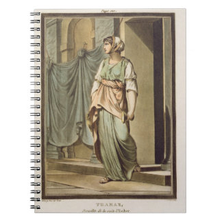 Thamar, an Israelite in the Retinue of Esther, cos Notebook