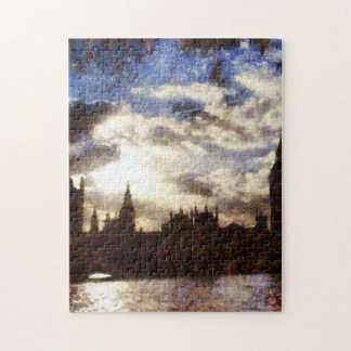 Thames and Westminster Palace Jigsaw Puzzle