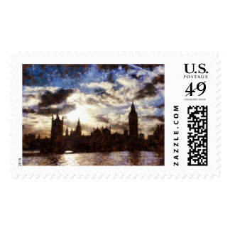 Thames and Westminster Palace Postage