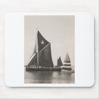 Thames barge mouse pad