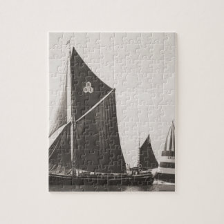 Thames barge jigsaw puzzle