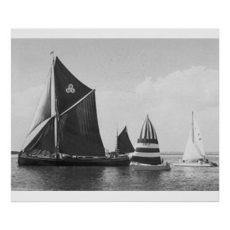 Thames Barge Race 1975, Poster