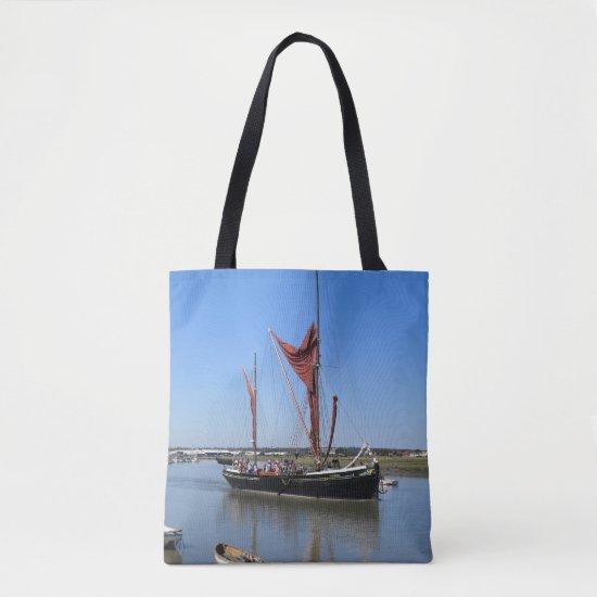 Thames Barge Tote Bag
