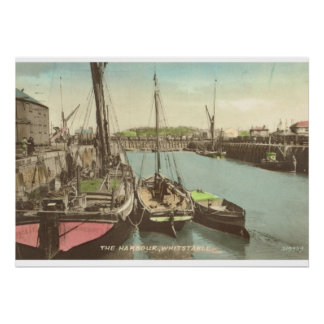 Thames barges at Whitstable, Kent, UK Poster