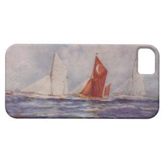 Thames barges, Veronica, Sirdar, Sara iPhone 5 Funda