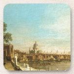 Thames de la terraza de la casa de Somerset (por C Posavasos De Bebidas
