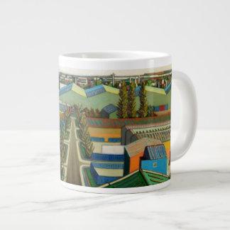 Thames Gateway Winter Large Coffee Mug