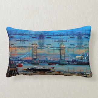 Thames Memories of Tower Bridge, London England Lumbar Pillow