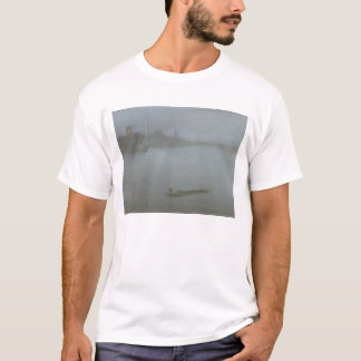 Thames - Nocturne in Blue and Silver, c.1872/8 (oi T-Shirt
