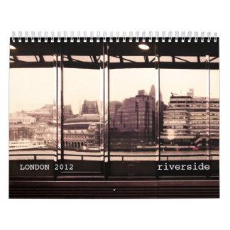 Thames river calendar