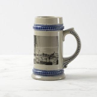 Thames sailing barges coffee mug