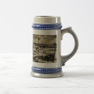 Thames Sailing Barges Vintage Coffee Mugs