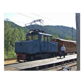 Thamshavnbanen, Norway Locomotive no. 5 Postcard