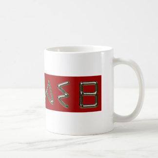 thanasi classic white coffee mug