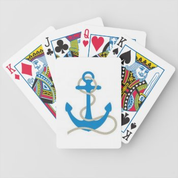 Thanchor400.jpg Bicycle Playing Cards by creativeconceptss at Zazzle