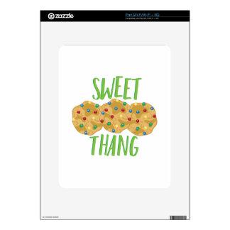 Thang dulce iPad calcomanía