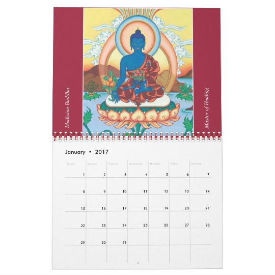 Thangka Art Calendar 2013
