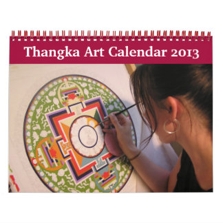 Thangka Art Calendar 2013