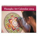Thangka Art Calendar 2014