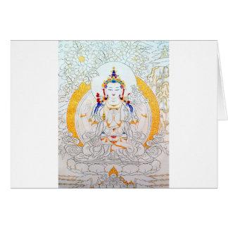 THANGKA PAINTING TIBET ART GREETING CARDS