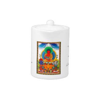 Thangka tibetano oriental fresco tres santos impor