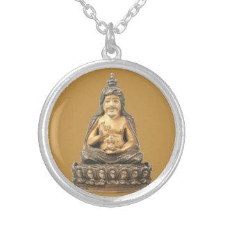 Thangtong Gyalpo Round Pendant Necklace