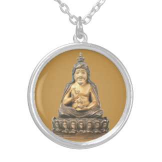 Thangtong Gyalpo Silver Plated Necklace