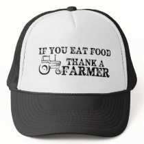 Thank A Farmer Trucker Hat