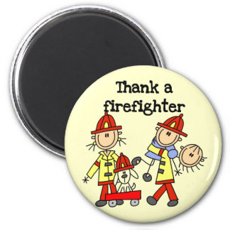Thank a Firefighter Tshirts and Gifts Refrigerator Magnet