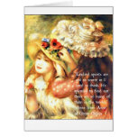 Thank a friend - Anne of Green Gables Quote Greeting Cards