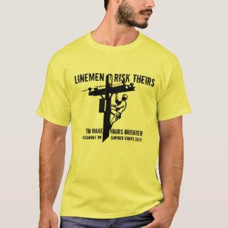 Thank a Lineworker Summer 2012 Gassaway, WV T-Shirt