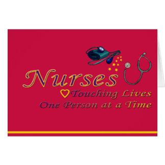 Thank a Nurse Greeting Cards