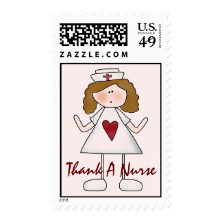 Thank A Nurse - Customized Stamps