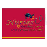 Thank a Nurse Greeting Card