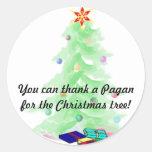 Thank a Pagan Stickers