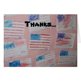 Thank a Soldier Card