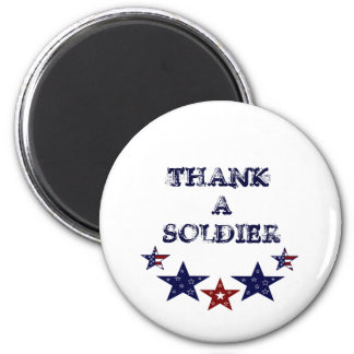 THANK A SOLDIER Magnet