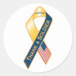 Thank A Soldier Sticker