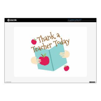 """Thank A Teacher Decals For 15"""" Laptops"""