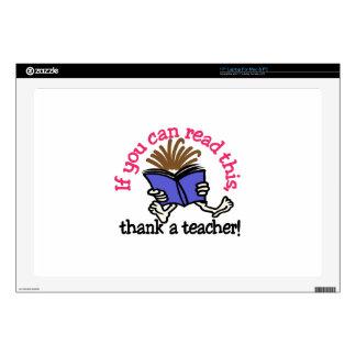 Thank A Teacher Laptop Skins