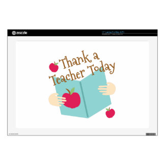 Thank A Teacher Skins For Laptops
