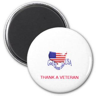 Thank A Veteran Magnet