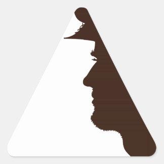 Thank a Veteran Triangle Sticker